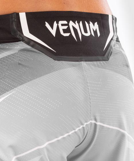 UFC 베넘 어쎈틱 파이트 나이트 여성 쇼츠 - 롱 핏  - 하얀