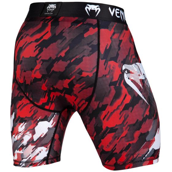 Venum Tecmo Compression Shorts - Red