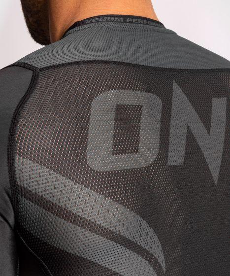 Рашгард ONE FC Impact – короткий рукав  - Черный/Черный