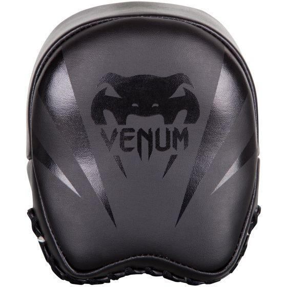 Боксерские лапы Venum Elite Mini - Черный/Черный