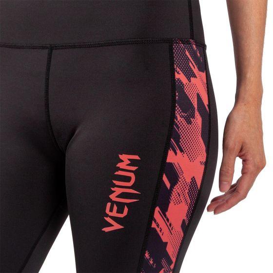 Venum Tecmo Leggings - For Women - Black/Coral