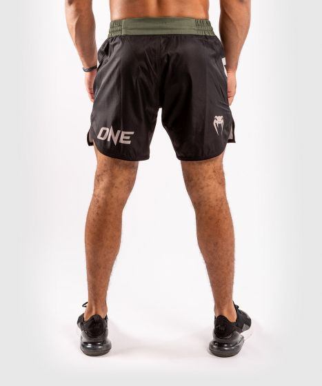 ММА шорты ONE FC  - Чёрный/хаки