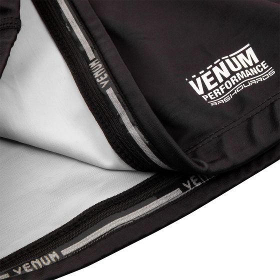 Venum Underground King Rashguard - Short Sleeves - Black/Sand