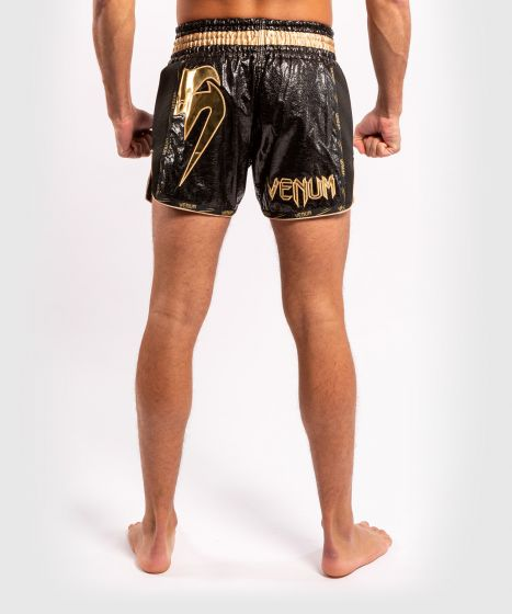 Venum Giant Foil Muay Thai Shorts - Black/Gold