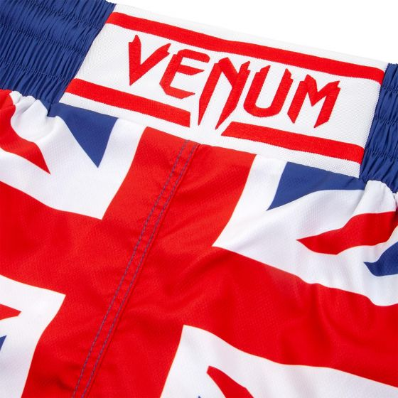 Venum Elite Boxing Shorts - UK - Blue/Red-White