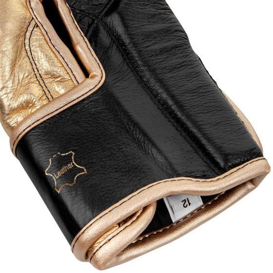 Боксерские перчатки Venum Giant 2.0 Pro - С липучкой - Черный/Золотистый - Black/Gold