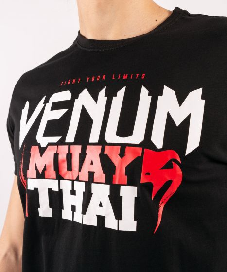 Футболка Venum Muay Thai Classic 2.0 Black / Red