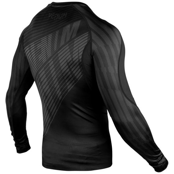 Venum Plasma Rashguard - Long Sleeves - Black/Black