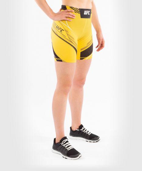 UFC Venum Authentic Fight Night Women's Vale Tudo Shorts - Long Fit - Yellow
