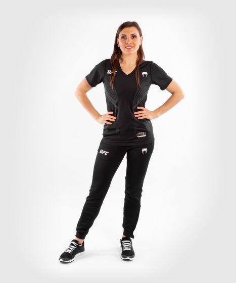 UFC Venum Authentic Fight Night Women's Walkout Jersey - Black