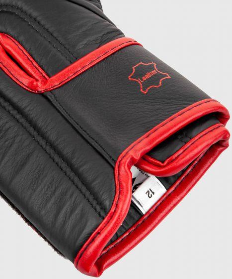 Venum Hammer Pro Boxing Gloves Velcro - Black/Red