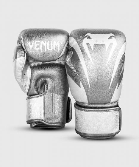 Venum Impact Boxing Gloves - Silver/Silver