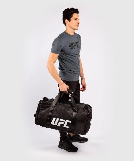 МУЖСКАЯ ХЛОПКОВАЯ ФУТБОЛКА С КОРОТКИМ РУКАВОМ UFC VENUM FIGHT WEEK - Серый