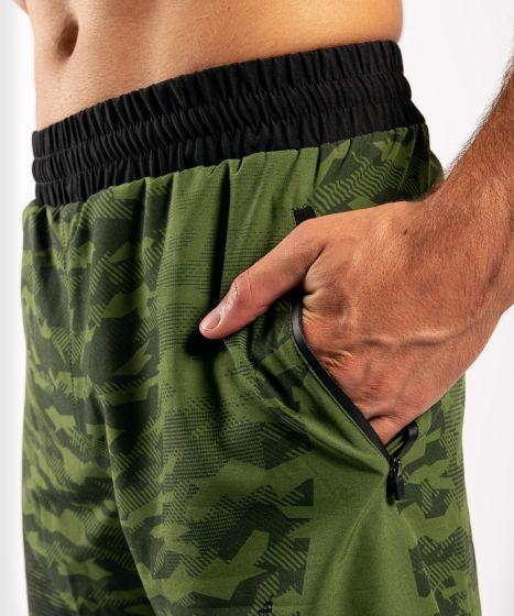 Спортивные шорты Venum Trooper - Лесной камуфляж/ Черный