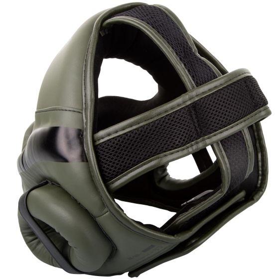 Venum Elite Headgear - Kaki/Black