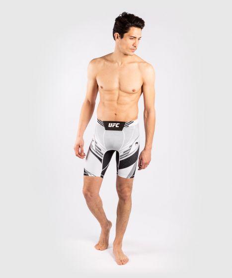 UFC Venum Authentic Fight Night Men's Vale Tudo Shorts - Long Fit - White