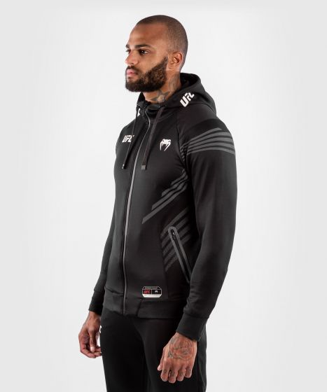 UFC Venum Authentic Fight Night Men's Walkout Hoodie - Black