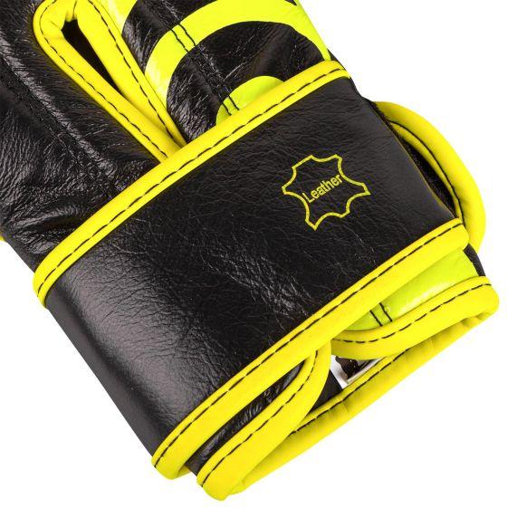 Боксерские перчатки Venum Shield Pro Loma Edition — с застежкой-липучкой — синий/желтый