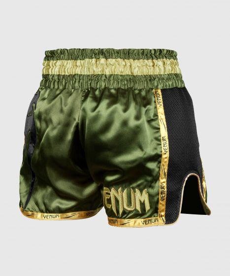 Шорты для тайского бокса Venum Giant - Хаки/Черный