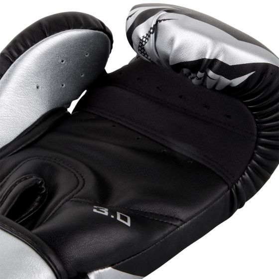 Venum Challenger 3.0 Boxing Gloves - Black/Silver