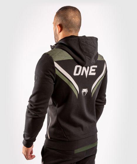 Толстовка ONE FC Impact  - Чёрный/хаки