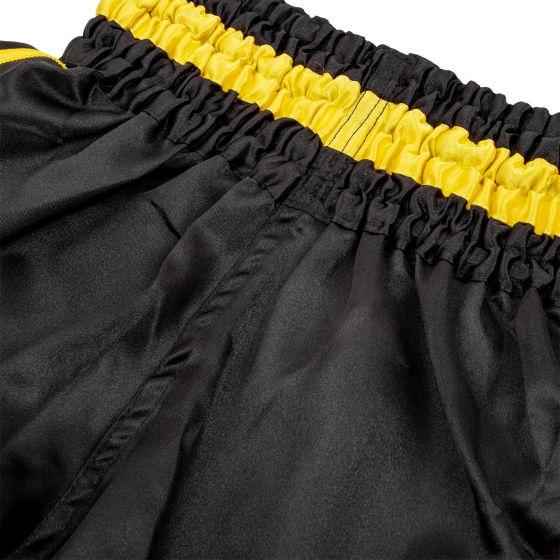Детские шорты для тайского бокса Venum Bangkok Inferno - Черный/Желтый