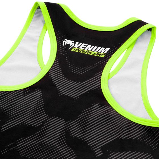 Venum Training Camp 2.0 Tank Top - Black/Neo Yellow - For Women
