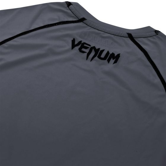 Venum Contender 3.0 Compression T-shirt - Short Sleeves - Heather Grey - Heather Grey/Black