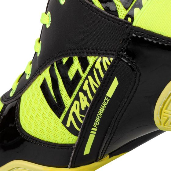 Venum Elite VTC 2 Edition Boxing Shoes - Neo Yellow/Black