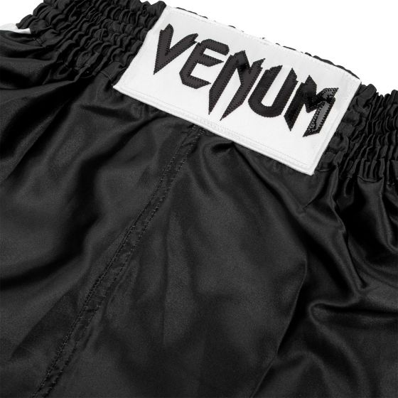 Venum Elite Kids Boxing Shorts - Black/White