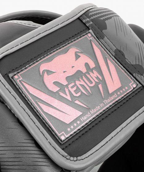 Venum 엘리트 헤드기어 - 블랙/핑크 골드