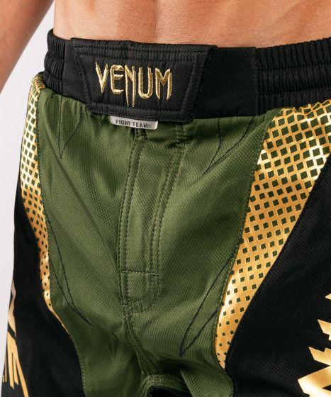 ММА шорты Venum x ONE FC  - Хаки/Золотой