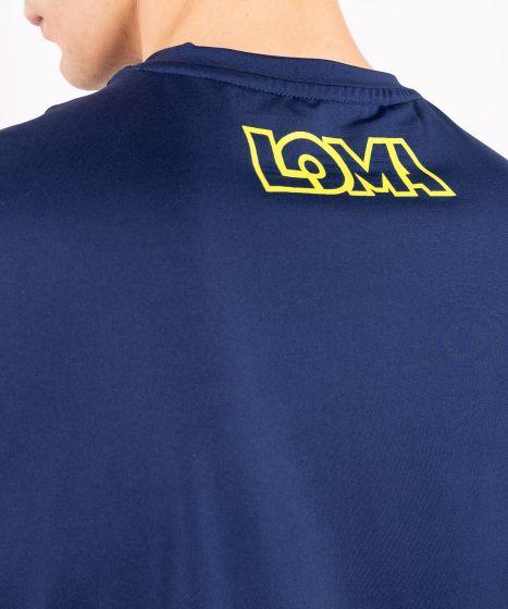Футболка  Dry Tech Venum Origins  Loma Edition - Синий/Желтый