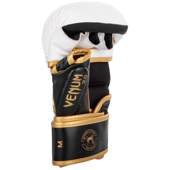 Sparring Gloves Venum Challenger 3.0 - White/Black/Gold