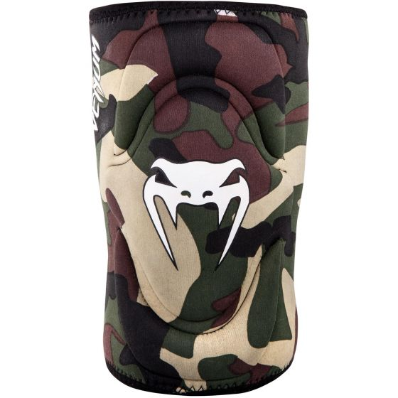 Venum Kontact Gel Knee Pad - Forest Camo
