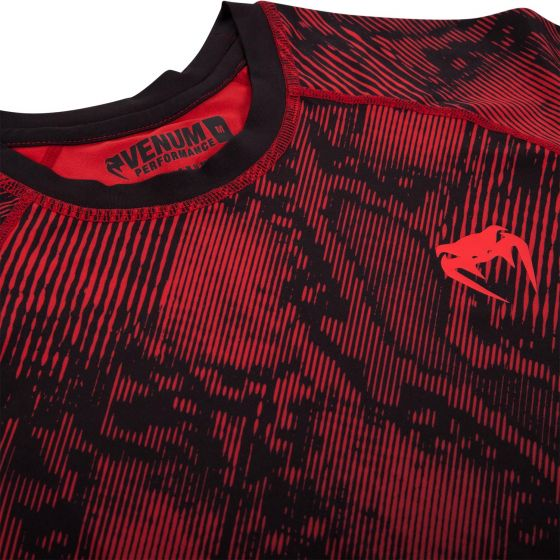 Venum Fusion Compression T-shirt - Short Sleeves - Black/Red