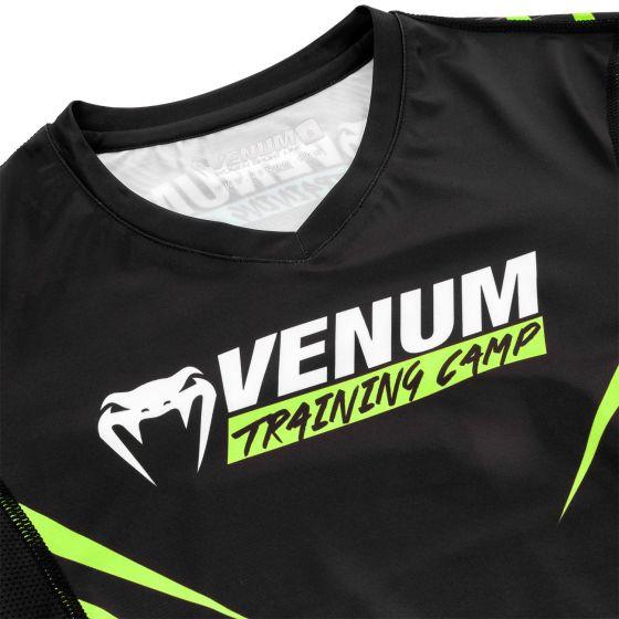 Рашгард Venum Training Camp 2.0 – Длинный рукав - Черный/Неоновый желтый