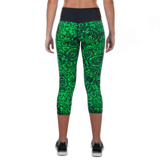 Venum Fusion Cropped Leggings - Green