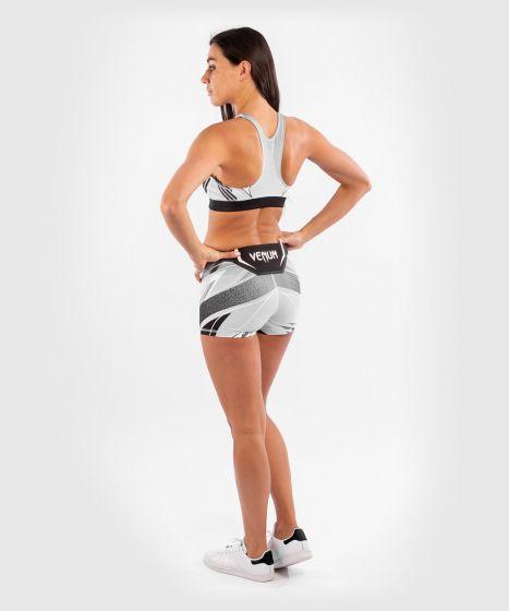 UFC Venum Authentic Fight Night Women's Vale Tudo Shorts - Short Fit - White