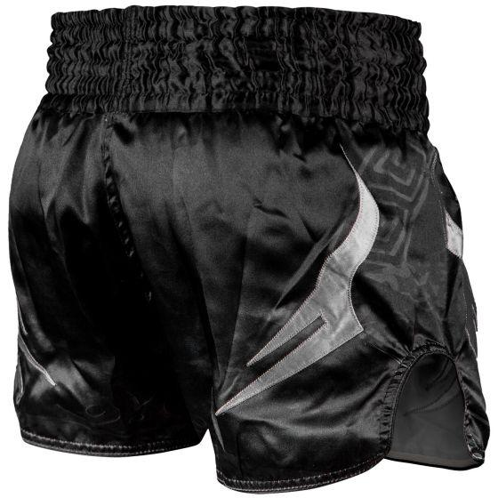 Шорты для тайского бокса Venum Gladiator 3.0 - Черный/Серый