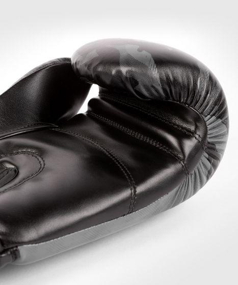 Боксерские перчатки Venum Defender - Черный/Черный