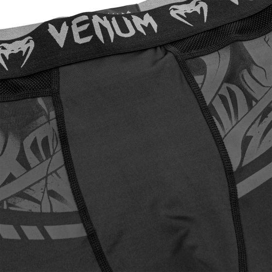 Venum Devil Spats - Black/Black