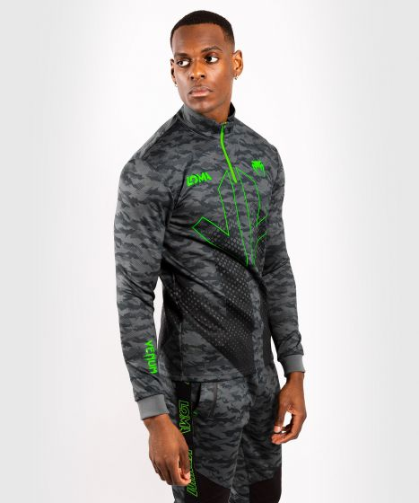 Venum Arrow Loma Signature Collection Collared Zip Sweatshirt - Camo