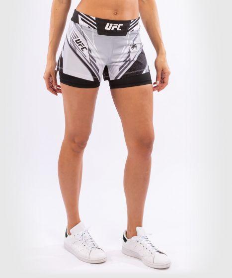 UFC 베넘 어쎈틱 파이트 나이트 여성 쇼츠 - 숏 핏 - 하얀