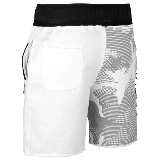 Venum Assault Cotton Shorts - White/Black