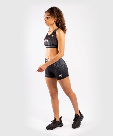 UFC 베넘 어쎈틱 파이트 위크 여성 SPORT 브라 - 검정