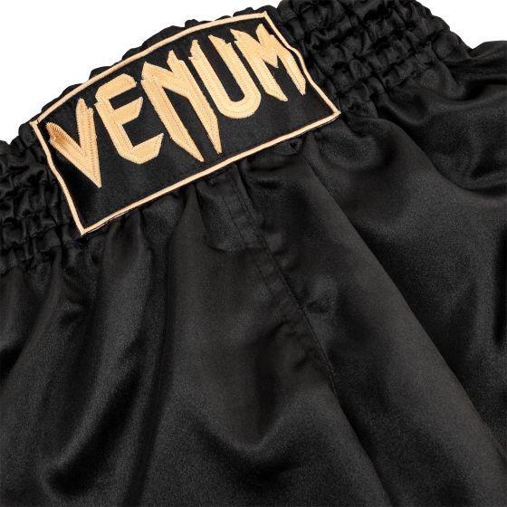 Шорты для тайского бокса Venum Classic - Черный/Золотой