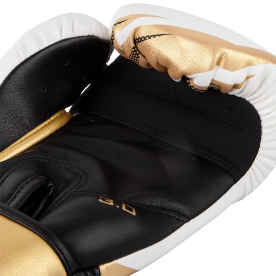 Venum Challenger 3.0 Boxing Gloves - White/Gold