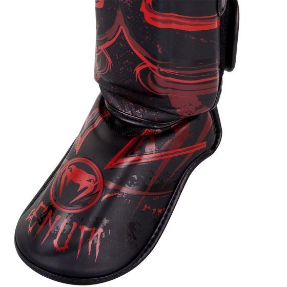 Щитки Venum Gladiator 3.0 Shin - черный/красный