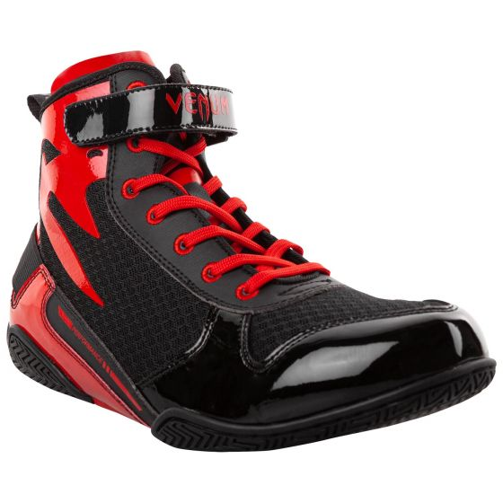 Боксерки Venum Giant Low - Black/Red